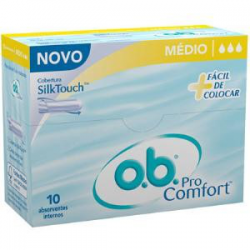 ABSORVENTE INTERNO OB MEDIO 10 UN