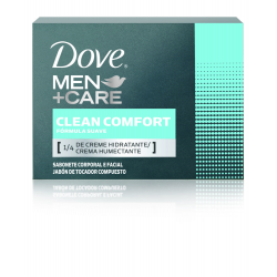 SABONETE DOVE MEN CLEAN CONFORT 90 GR