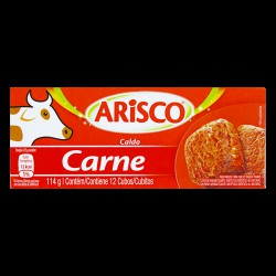 CALDO ARISCO CARNE 114G