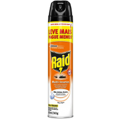 INSETICIDA RAID AEROSOL MULTI INSETOS CITRONELA 420 ML