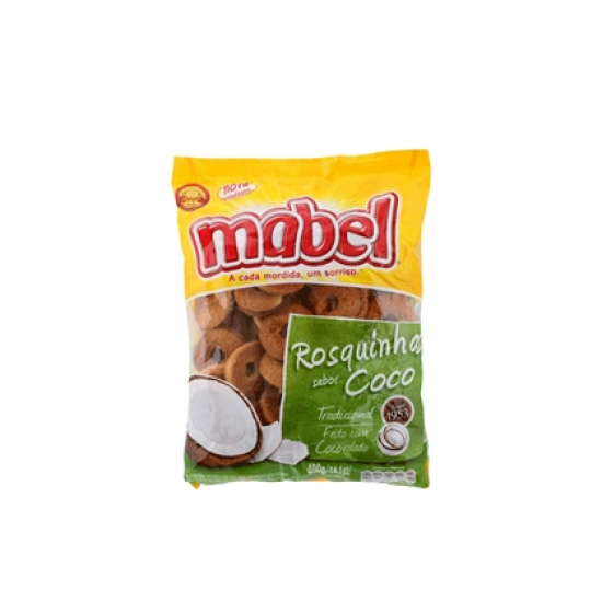 ROSQUINHA MABEL COCO 400 GR